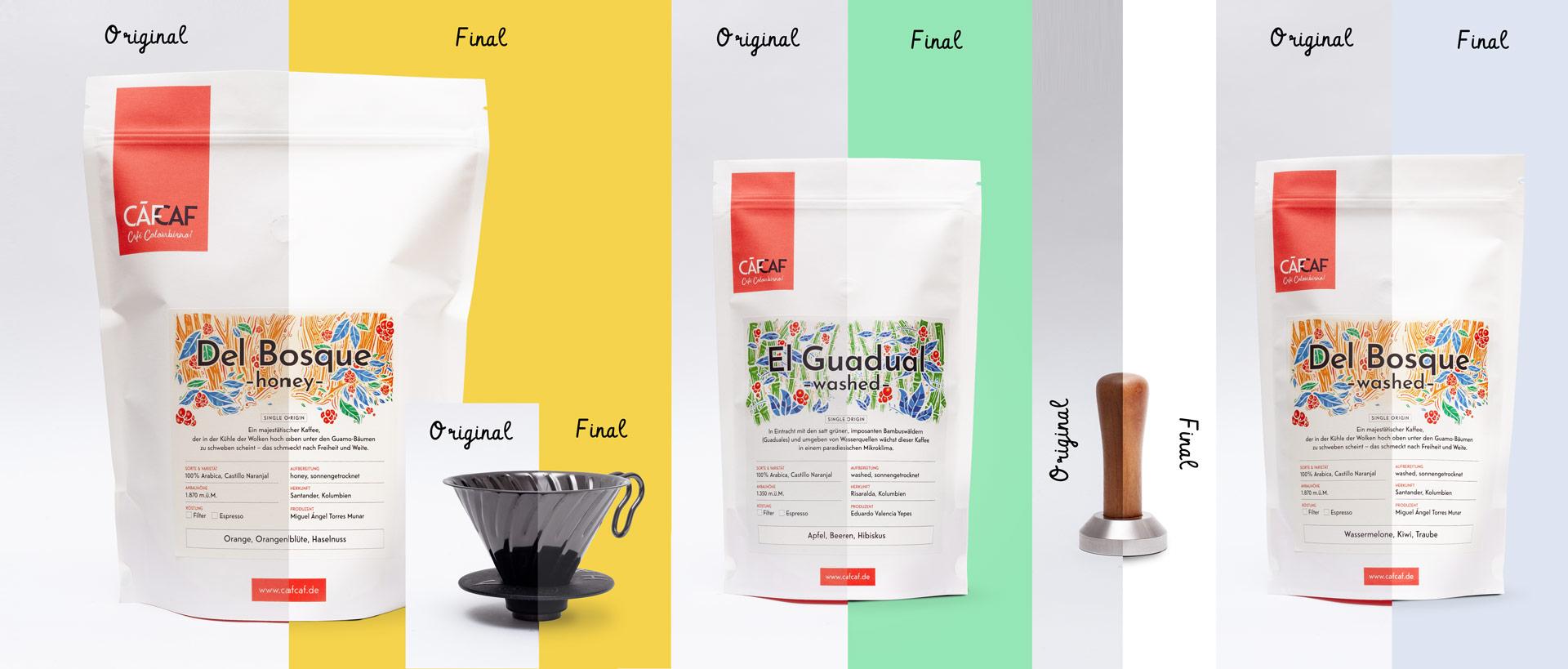 CafCaf Kaffeeshop und Blog, Woocommerce Webshop & WordPress System