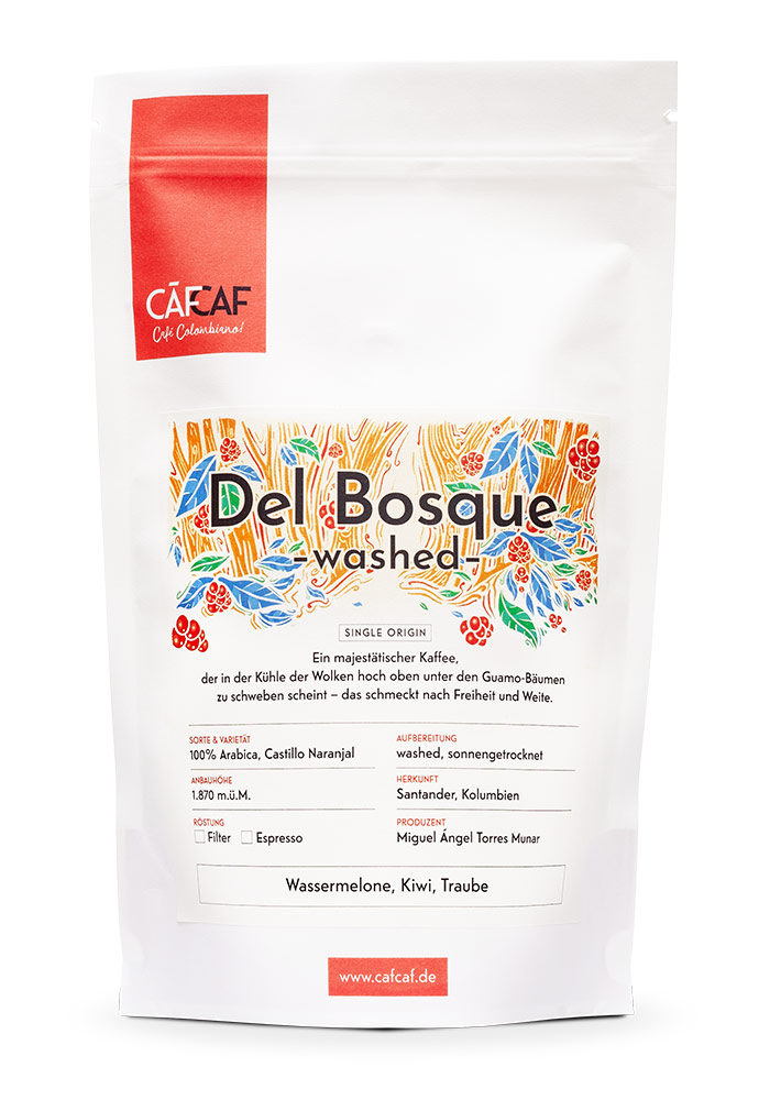 CafCaf Kaffee Del Bosque Washed