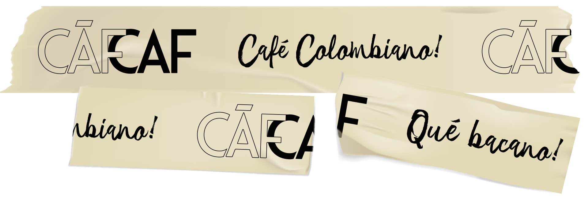CafCaf Kaffeeshop und Blog: Corporate Klebeband