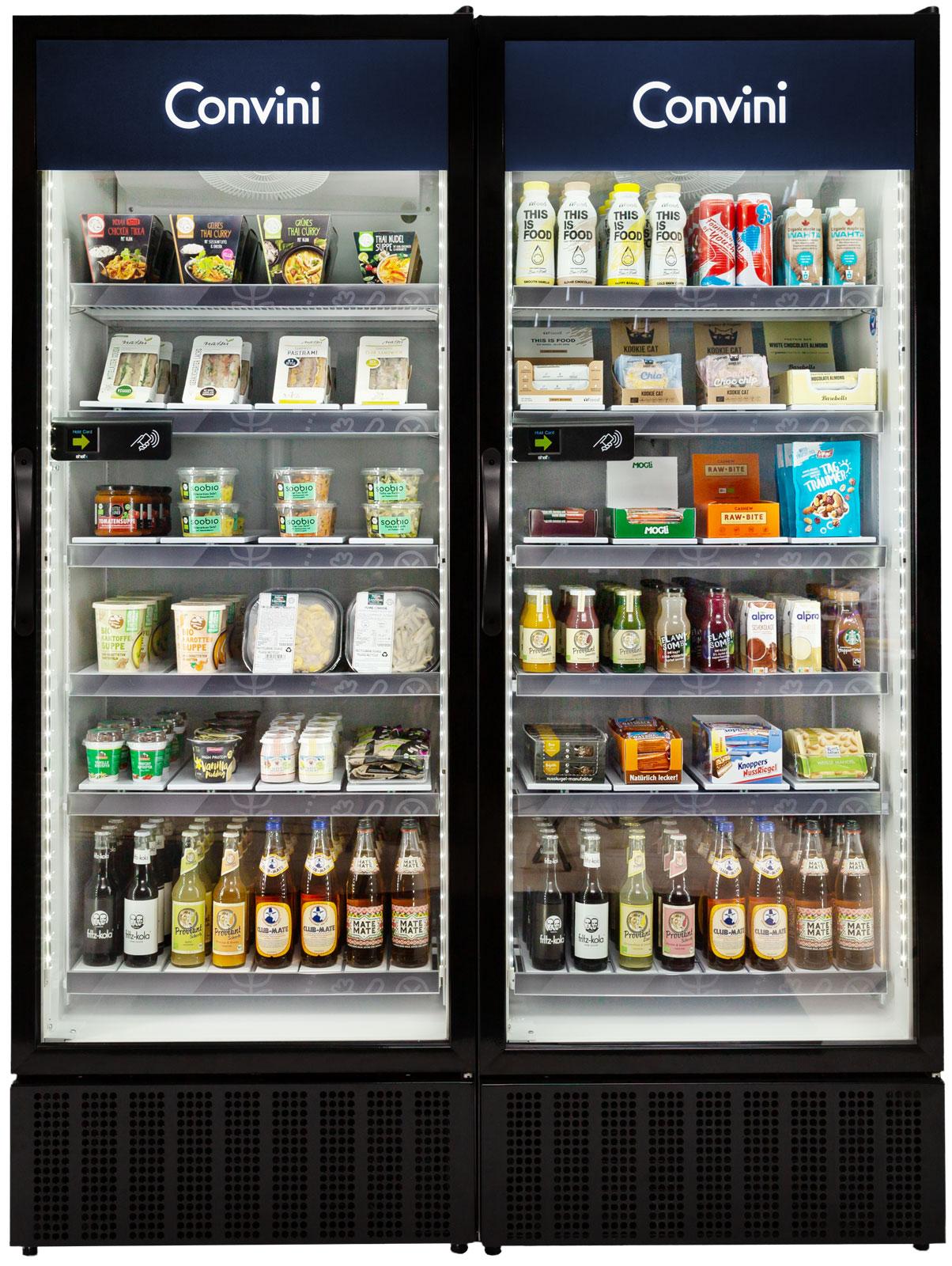 Convini Deutschland Branding Kühlschrank