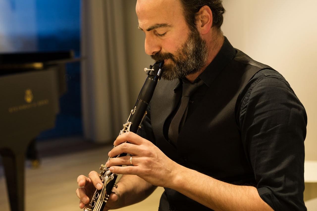Kinan Azmeh in der Elbphilharmonie Hamburg