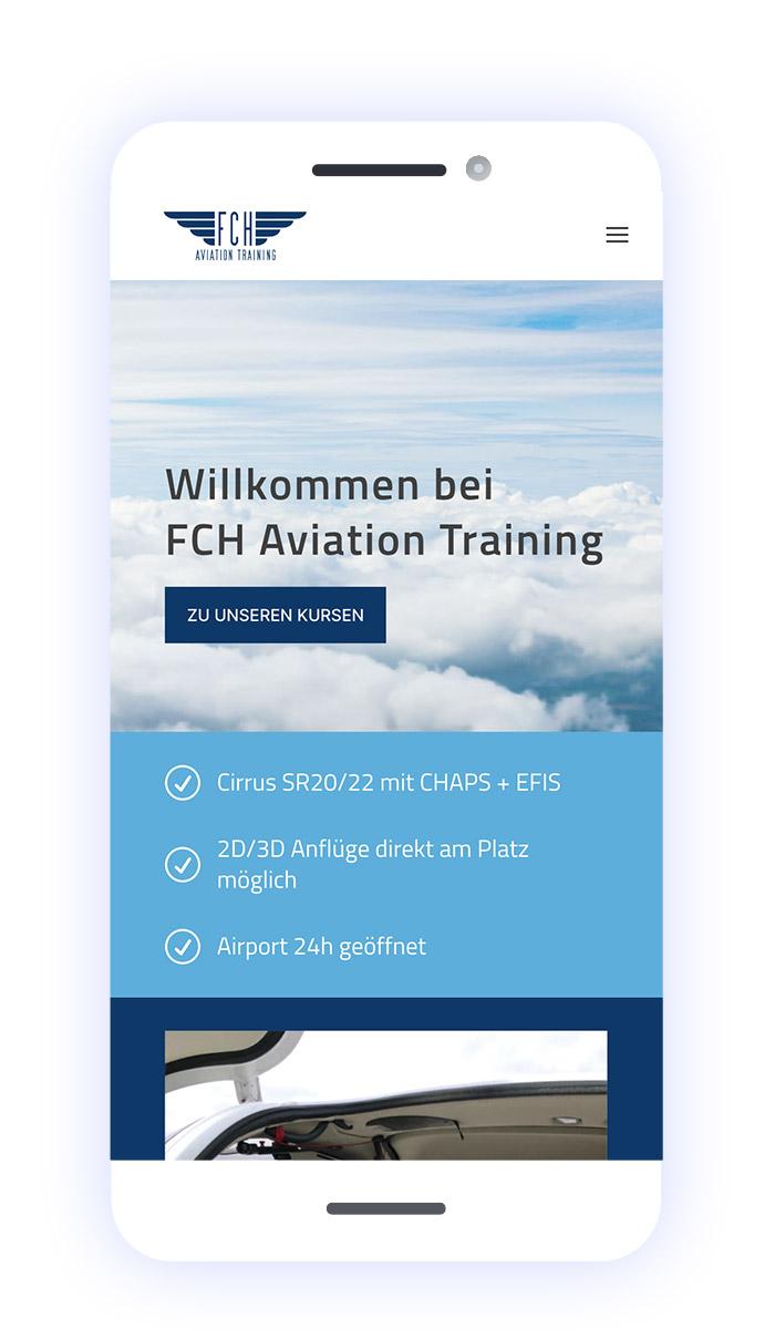 FCH Aviation Training Flugschule: mobile