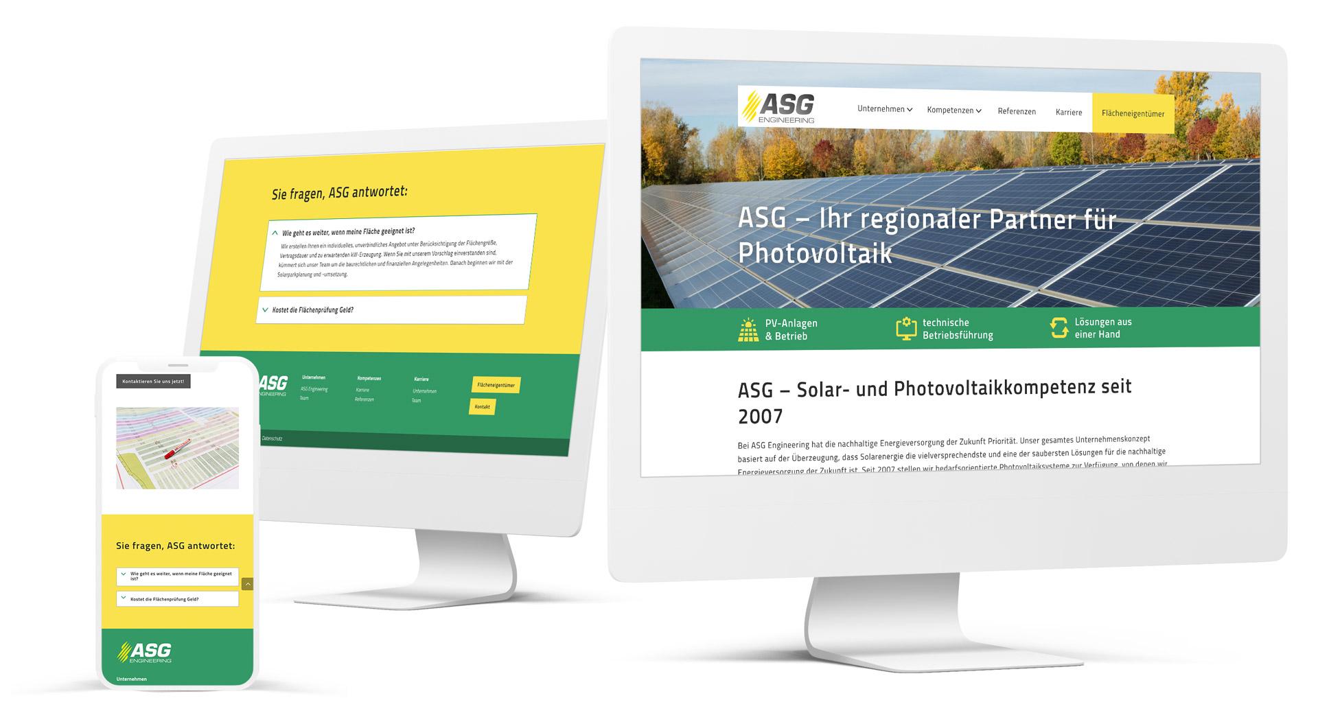 ASG Engineering: Solarenergie mit Photovoltaik-Systemen